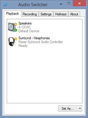 Home | Audio Switcher